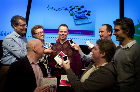 Martin Koel wint Android wedstrijd T-Mobile